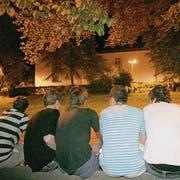 Das St. Mangen-Pärkli ist in den warmen Jahreszeiten ein beliebter Treffpunkt für Jugendliche. (Archivbild: Ralph Ribi)