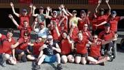 Die Procap-Sportgruppe Toggenburg machte in Tenero an den Sport- und Gesundheitstagen mit. (Bild: PD)