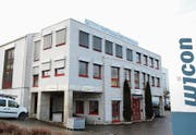 Die Büro- und Produktionsstätten der Wicon AG im Industriegebiet Städeli in Oberuzwil. (Bild: Philipp Stutz)