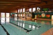 Im fast 40-jährigen Hallenbad Bütschwil stehen in nächster Zeit einige Veränderungen bevor. (Bild: Anina Rütsche)