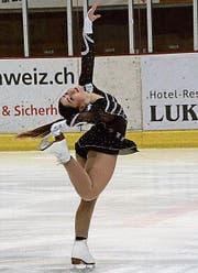 Ilaria Fosca (EC Uzwil) beeindruckte mit ihren Pirouetten.