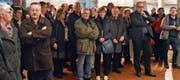 Viele Altstätterinnen und Altstätter folgten der Einladung in den Göttersaal des Museums Prestegg. (Bilder: Remo Zollinger)