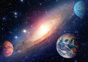 Astrology astronomy earth outer space solar system mars planet m (Bild: Fotolia)