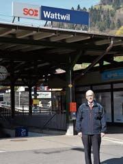 Markus Beeler leitet den Bahnhof Wattwil. (Bild: Ruben Schönenberger)