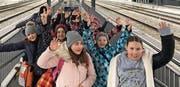 Die Mitglieder von Jungwacht Blauring Wattwil unternahmen einen Ausflug in den Säntispark. (Bild: PD)