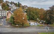 Die neoklassizistische Offene Kirche wird dem zweiten HSG-Campus am Unteren Graben weichen müssen. (Bild: Urs Bucher)