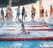 Neben dem Sport- und Schulschwimmen sollen im neuen Hallenbad auch Wellness und Action nicht vergessen gehen. (Bild: Urs Bucher)