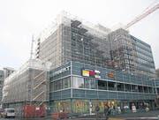 Die Arbeiten am Neumarkt werden im Sommer 2014 abgeschlossen. (Bild: Samira Mehdiaraghi)
