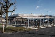 Im Gebiet Buechenwald will der Stadtrat ein neues Hallenbad bauen. (Bild: Michaela Rohrer (7. März 2016))