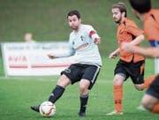 Winkelns Captain Marc Grünenfelder gibt gegen Dübendorf immer wieder spielerische Impulse. (Bild: Ralph Ribi)