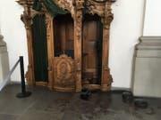 Der historisch wertvolle Beichtstuhl aus dem 18. Jahrhundert. (Bild: pd)