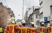 Beim Brand an der Linsebühlstrasse kam trotz starker Rauchentwicklung niemand ernsthaft zu Schaden. (Bild: Urs Bucher (14. Februar 2017))
