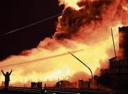 Der Brand richtete verheerenden Schaden an. (Bild: Manuel Nagel)