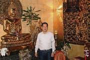 Der Geschäftsführer des «Golden Buddha»: Duc Quang Vu. (Bild: Manuel Roth)