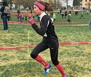 Nina Mettler während des Wettkampfs. (Bild: PD)