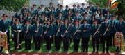 Die MGME wird an den Kreismusiktagen auch gleich ihre neue Uniform präsentieren. (Bild: dp)