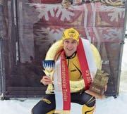 Martin Furrer wird geehrt wie ein Kaiser. (Bild: pd)