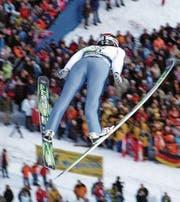 Schafft Simon Ammann in Pyeongchang den Exploit und springt wieder zu Olympiagold? (Bilder: Urs Huwyler)
