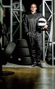 Fabian Heggli: Rennfahrer und bald Rekrut. (Bild: Mareycke Frehner)