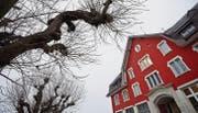 Das Schulhaus Ebnet in Andwil. Auf Anfang Jahr muss das Präsidium der Schulgemeinde Andwil-Arnegg neu besetzt werden. (Bild: Benjamin Manser)