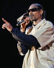 «Doggfather»: Snoop Dogg war einer von vielen Musikern der alten Garde in Frauenfeld. (Bild: Reto Martin)