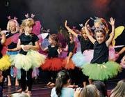 Altstätten ist an der Staablueme: Wenn die Kindertanzgruppen von Creative Movements auftreten, ist die Gasse voll. (Bilder: Max Tinner)