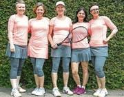 Die Damenmannschaft 30+ des Tennisclubs Balgach verpasste den Aufstieg in die Nationalliga C nur ganz knapp. (Bild: pd)