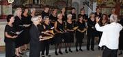 Frauen aus Solothurn und aus dem Toggenburg führten im Kloster St. Maria der Engel «Nonnengesänge» auf. (Bild: Thomas Rüegg)