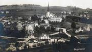 Heute jährt sich der Dorfbrand zum 200. Mal (Bild: ETH-Bibliothek Zürich)