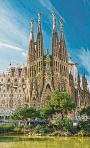 Die «Sagrada Familia» in Barcelona. (Bild: depositphotos/masterlu)
