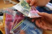 Die durchschnittliche Verschuldung pro Einwohnerin und Einwohner ist um 252 Franken gesunken. (Bild: pd)