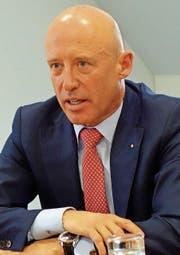 Raiffeisen-Chef Patrick Gisel setzt auf Kooperation. (Bild: Stefan Borkert)