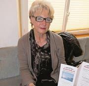 Regionalleiterin der Gruppe Bodensee: Ursula Verbeek. (Bild: Susi Miara)