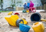 Die Attacke ereignete sich in einem Sandkasten. (Bild: Keystone (Symbolbild))