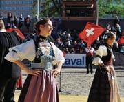 Morgen Samstag und Sonntag wird die Olma-Arena zur grossen Bühne der Schweizer Volkskultur. (Bild: PD)