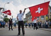 Gossau soll Anfang Juli die Ostschweizer Hauptstadt des Brauchtums werden, wie es Wattwil 2013 war. (Bild: Benjamin Manser)