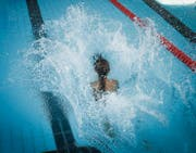 St. Gallen - Gallusfisch Schüler Schwimmen Wettschwimmen (Bild: (Ralph Ribi))