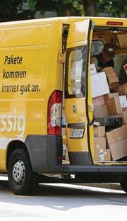 «Pakete kommen immer gut an», wirbt die Post. Manchmal geht aber eines verloren – oder wird gestohlen. (Bild: ky/Peter Klaunzer)