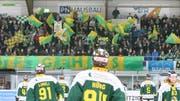 Hier jubeln die Thurgau-Fans: Ab heute haben auch die Gästefans wieder eine gute Sicht aufs Spielfeld. (Bild: MARIO GACCIOLI/Symbol)