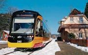 Eine Stadtbahn des Typs Citylink von Stadler Rail und Vossloh Kiepe. (Bild: pd)