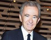 Bernard Arnault, Chef des Luxusgüterkonzerns LVMH, profitiert zünftig von der Abschaffung der Vermögenssteuer. (Bild: Pascal Le Segretain/Getty)