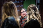 Tech-Unternehmerinnen im Gespräch am Start Summit: Monique Morrow ist eine Pionierin der Branche. (Bild: Michel Canonica (St. Gallen, 15. März 2018))