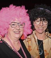 Trendfrisuren: Elisabeth Felix (links) und Esther Zehnder.