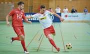 Der gelbe Filzball ist vorerst Geschichte. Am 28. Regiomasters des FC Fortuna wird erstmals mit einem Futsal-Ball gespielt. (Bild: Ralph Ribi)