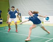 Jenjira Stadelmann (links) und Aline Müller ist im Doppel einiges zuzutrauen. (Bild: Ralph Ribi)