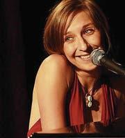 Sarah Hakenberg ist am Samstag bei KiE zu Gast. (Bild: PD)
