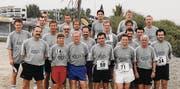 Das waren noch Zeiten: Die Ostschweizer Oberliga-Schiedsrichter 1977 im Trainingslager auf Cran Canaria. (Bild: pd)
