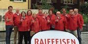 Erst kürzlich erhielten die Uzwiler Hufiseler neue Vereinsjacken. (Bild: PD)