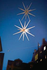 Nicht alle Sterne leuchten: Vor allem in der Brühlgasse macht «Aller Stern» Sorgen. (Bild: Benjamin Manser)