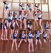 Die 19 Turnerinnen der Kategorie K 1. (Bild: PD)